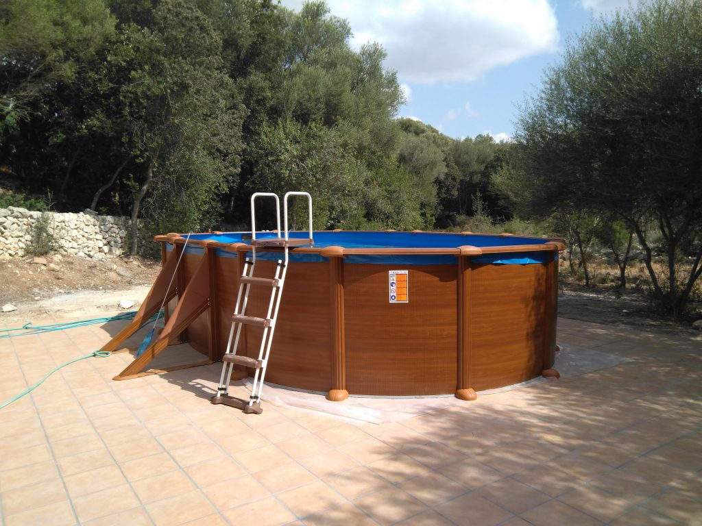 Piscina desmontable superficie